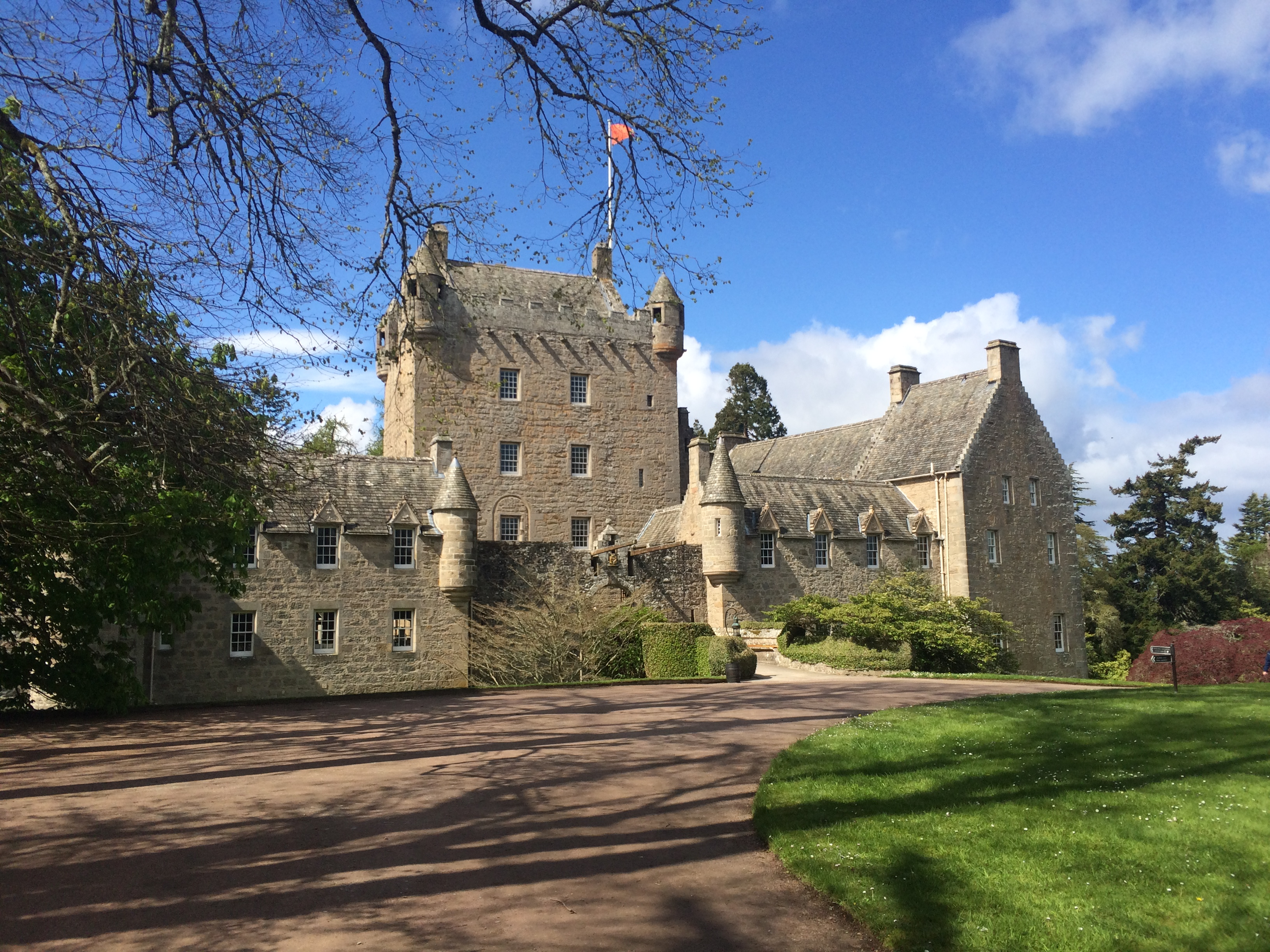Cawdor Castle And Baby Comes Too
